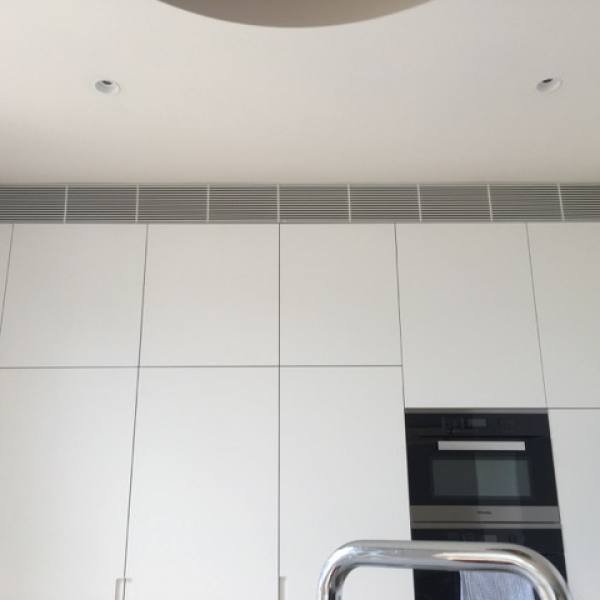ducted air conditioning kitchen